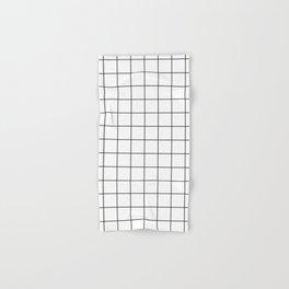 grid pattern Hand & Bath Towel