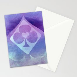 Full of Aces (Lilac Version) Stationery Cards