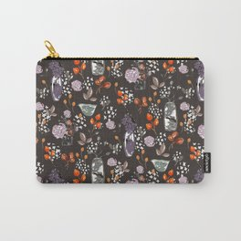 Sepia Bouquets Carry-All Pouch