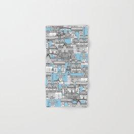 Paris toile cornflower blue Hand & Bath Towel