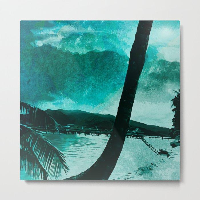 Tempest Island (Colder Version) Metal Print