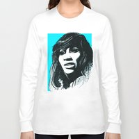 tina Long Sleeve T-shirts featuring Tina Turner by ChrisGreavesCreative
