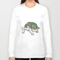 tortoise Long Sleeve T-shirts featuring Tortoise by Ouizi - Los Angeles