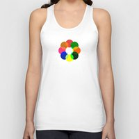 daria Tank Tops featuring Us And Them by Deepti Munshaw