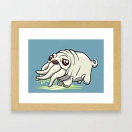Pugthulhu Framed Art Print