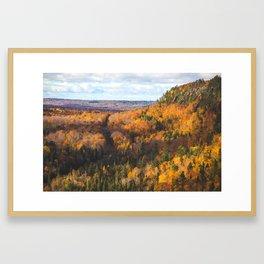 Cliff Drive Framed Art Print