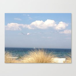 up to the clouds Canvas Print