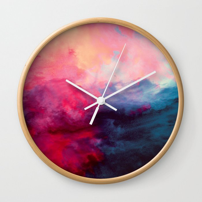 Reassurance Wall Clock