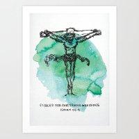 The Greatest Sacrifice Art Print