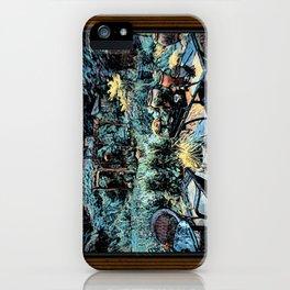 Night in the Garden iPhone Case