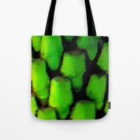 palm Tote Bags featuring Palm by JT Digital Art