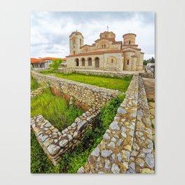 Saint Panteleimon, Ohrid, Macedonia Canvas Print