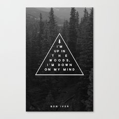 Woods -- Bon Iver Canvas Print