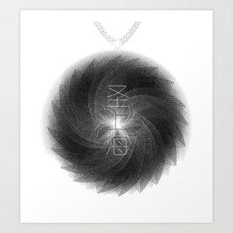 Spirobling XVIII Art Print