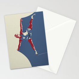 Skates for Victory Stationery Cards