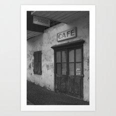 fermé Art Print