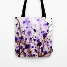 In the Purple Feild Tote Bag