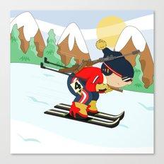 Winter Sports: Biathlon Canvas Print
