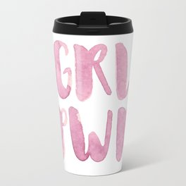 Girl Power GRL PWR Travel Mug