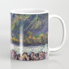 The Train Whistle Echos in Glenwood Canyon Coffee Mug