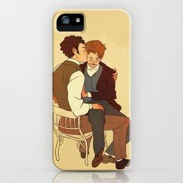 Courfeyrac/Marius iPhone Case