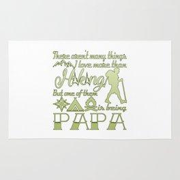 Hiking Papa Rug