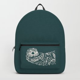 The handsome sea otter Backpack