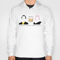 lost in translation Hoodies featuring Lost in Translation by Qc Illustrations