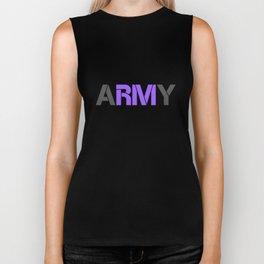 BTS RM ARMY Biker Tank