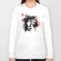 beethoven Long Sleeve T-shirts featuring Beethoven FU by viva la revolucion