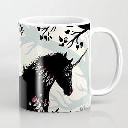 Folk Unicorn Coffee Mug