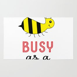 Busy as a Bee Rug
