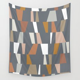 Neutral Geometric 02 Wall Tapestry