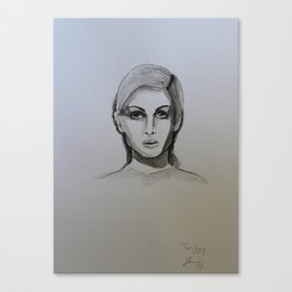 Twiggy! Canvas Print