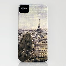 la tour eiffel iPhone (4, 4s) Slim Case