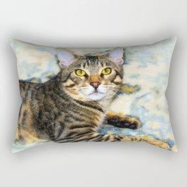 Bengal Tom Rectangular Pillow