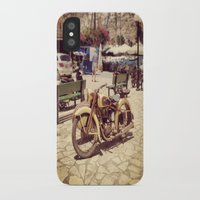 motorcycle iPhone & iPod Cases featuring Motorcycle by Sumii Haleem