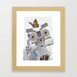 Johnny 5 is Alive! Framed Art Print