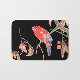 Red Parrot A Bath Mat