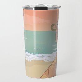 ◯ Summer Sunset ◯ Travel Mug