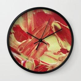 Garnet & Gold Wall Clock