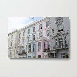Notting Hill Metal Print