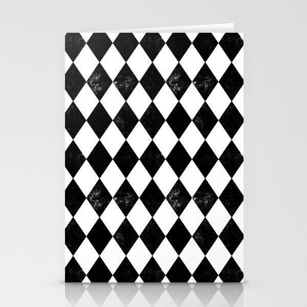 Diamond Black White Minimal Monochrome Greyscale
