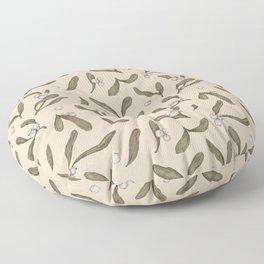 Mistletoe Pattern Floor Pillow