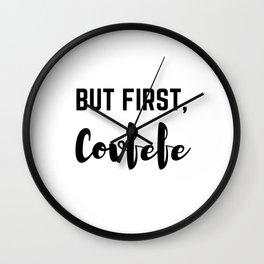 Covfefe Wall Clock