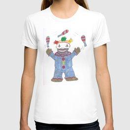 Creepy Twisty Clown T-shirt