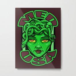Madusa Metal Print