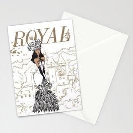 Kayla Royal Stationery Cards