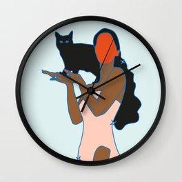 Alma de gato Wall Clock