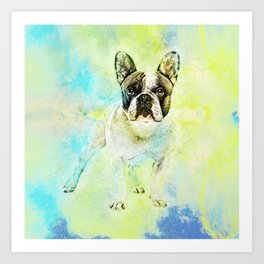 French Bulldog -Frenchie Dog Art Print